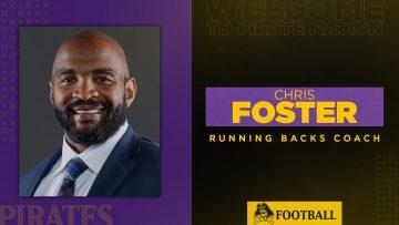 Foster To Coach ECU Running Backs